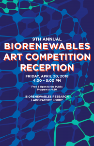 [POSTER]Biorenewables Art Competition 2018 Reception