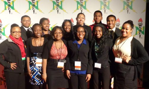 students attending national conference