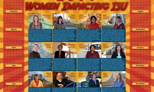 Women impacting ISU