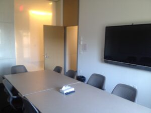 Photo of interview room in Marston Hall