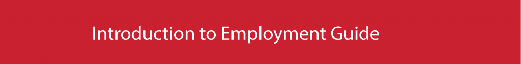 Introduction to Employment Guide