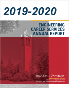 2019-2020 Engineering Career Services Annual Report Cover