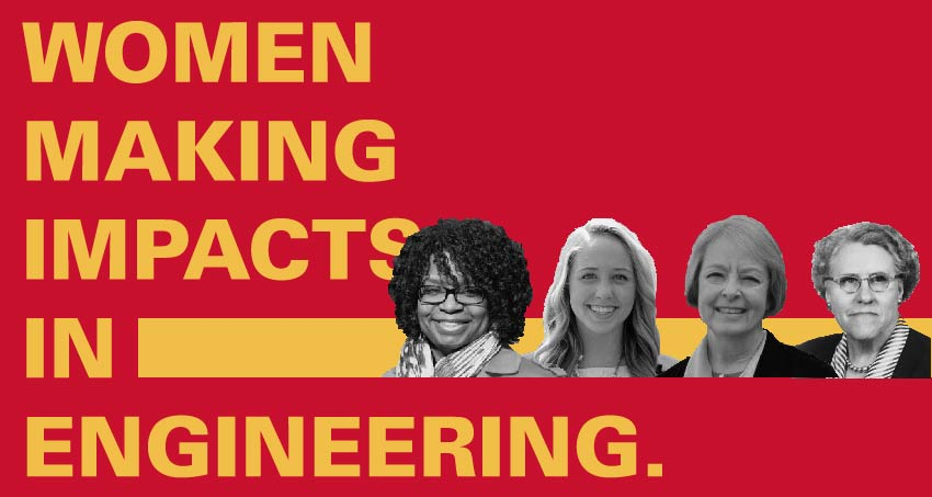 Women making impacts in engineering