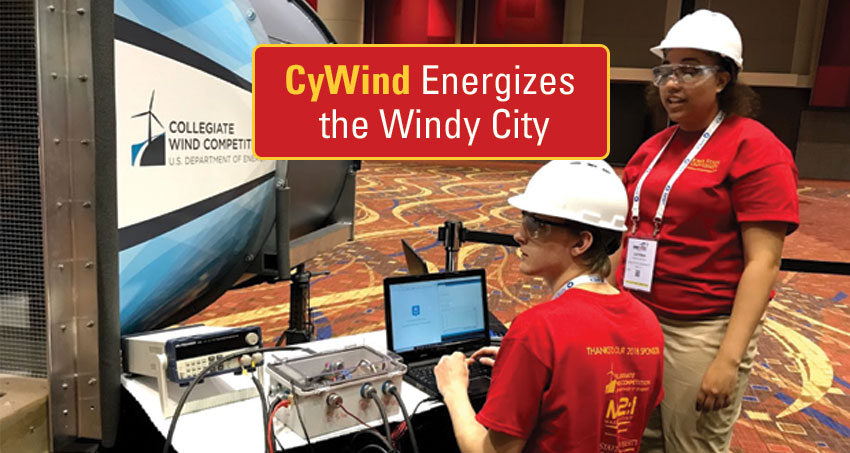 CyWind Energizes the Windy City