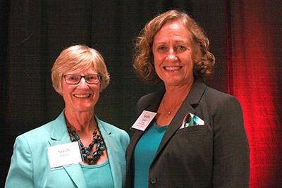 Sarah Rajala and Sandra Larson