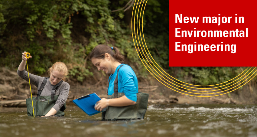 New major in Environmental Engineering