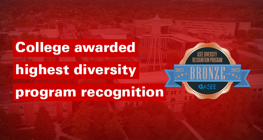 College awarded highest diversity program recognition