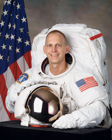 Astronaut Clay Anderson returns to campus