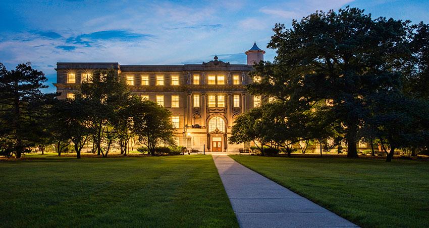 Marston Hall in evening light