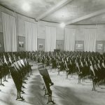 Marston Hall auditorium historical photo