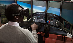flight simulator research