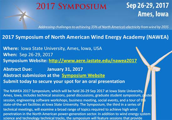2017 NAWEA Symposium (PDF)