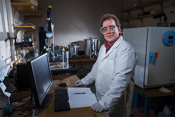 Timothy Bigelow, associate professor of mechanical engineering and electrical and computer engineering