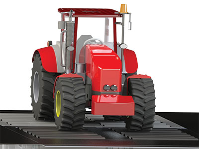 tractor on chassis dynamo