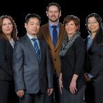 Left to right: Gül Okudan-Kremer, Shan Jiang, Nigel Reuel, Ann Gansemer-Topf and Qing li. Photo taken February 2020.
