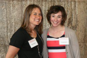 Photo of Sadie Johnson and Kristin Clemens