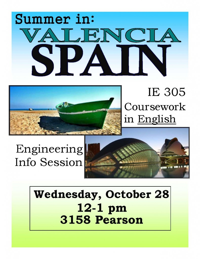 Valencia Info Night